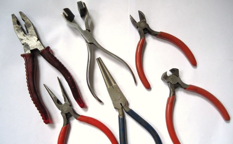 plier set for mechanics