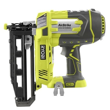 Ryobi Battery Powered 16 Gauge Finish Nailer, P325