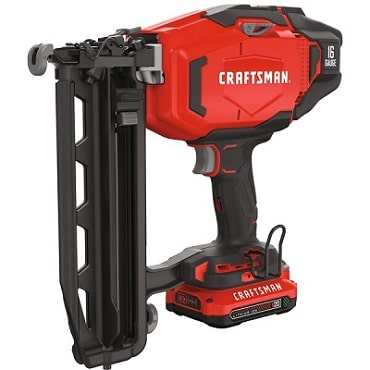 CRAFTSMAN Cordless Finish Nailer Kit, CMCN616C1