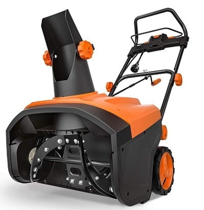 TACKLIFE Single-stage Electric Snow Blower