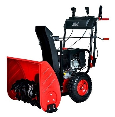 PowerSmart Electric Start Gas Snow Blower, PSSAM24